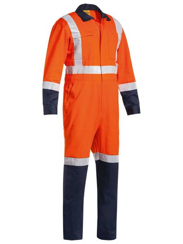 BC6029T BISLEY TTMC-W TAPED TWO TONE LIGHTWEIGHT COVERALL - ON THE GO SAFETY & WORKWEAR