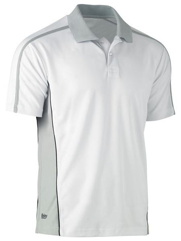 BK1423 BISLEY PAINTER'S CONTRAST POLO SHIRT - SHORT  SLEEVE - ON THE GO SAFETY & WORKWEAR