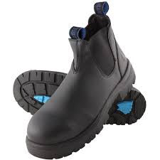 STEEL BLUE HOBART PULL ON BOOT STEEL TOE 312101 - ON THE GO SAFETY & WORKWEAR