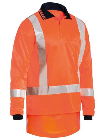 BK6805T BISLEY TTMC-W COOL VENT HI VIS POLO SHIRT - ON THE GO SAFETY & WORKWEAR