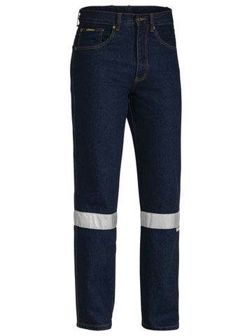 BP6050T BISLEY 3M TAPED ROUGH RIDER JEANS - ON THE GO SAFETY & WORKWEAR