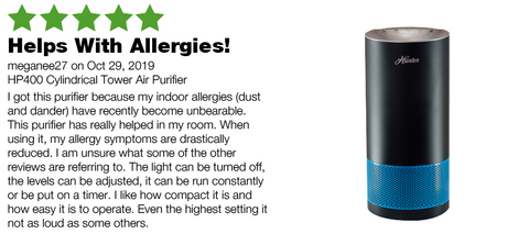 Hunter HP400 Allergy Review