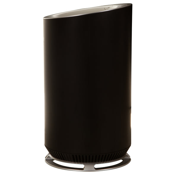 Hunter HP125 AirX EcoSilver HEPA Digital Air Purifier, Black, Right Side