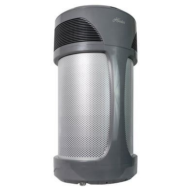 Hunter HP980 AirMax Whole Home Industrial Strength Air Purifier , Gray, Hero Angle