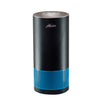 blue Hunter HP400 Cylindrical Tower Air Purifier, Black and Blue