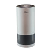 Hunter HP400 Cylindrical Tower Air Purifier, White and Gray