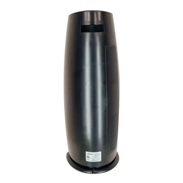 Hunter HP600 Tall Tower Air Purifier, Black, Back