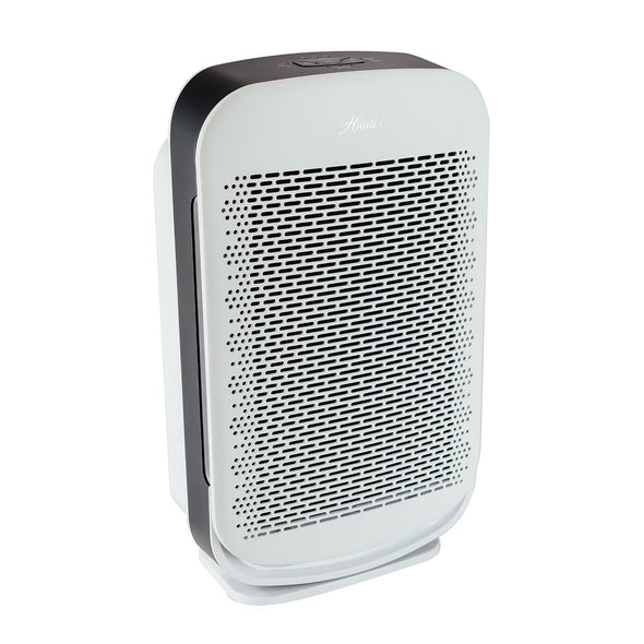 Hunter HP700 Medium Console Air Purifier, White, Angle