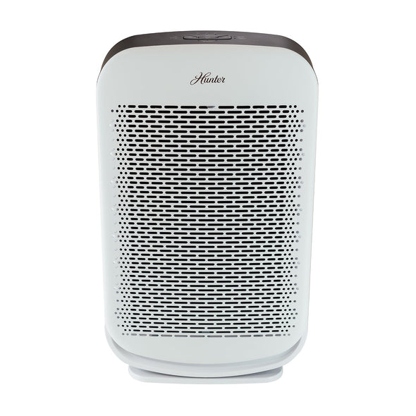 Hunter HP700 Medium Console Air Purifier, White, Front