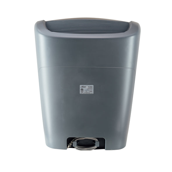 Hunter HP800 Multi-Room Large Console Air Purifier, Graphite, Back