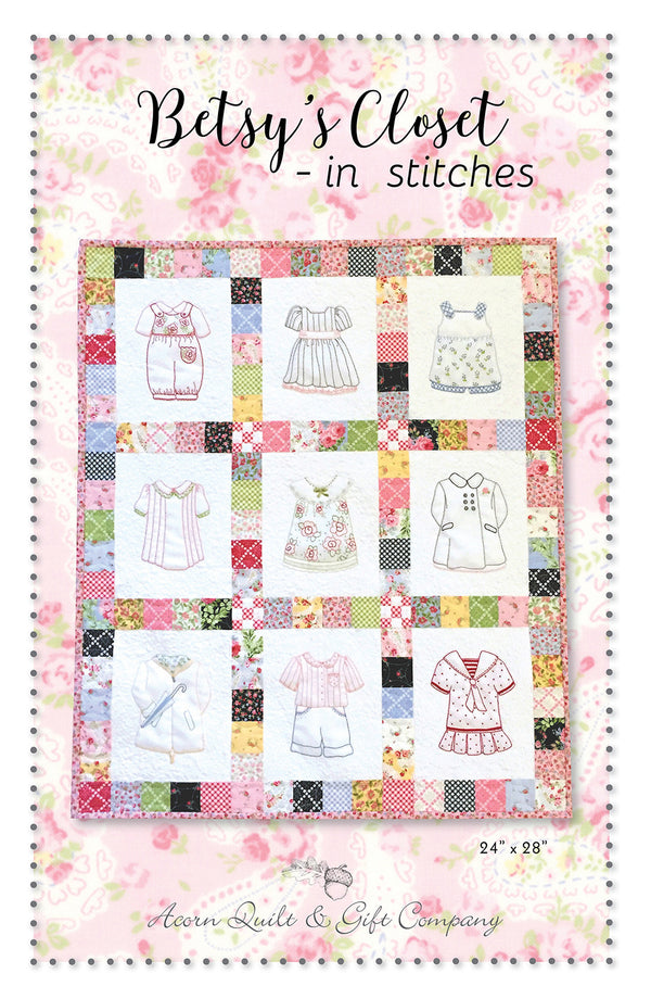 Betsy's Closet - In Stitches  -  PDF pattern