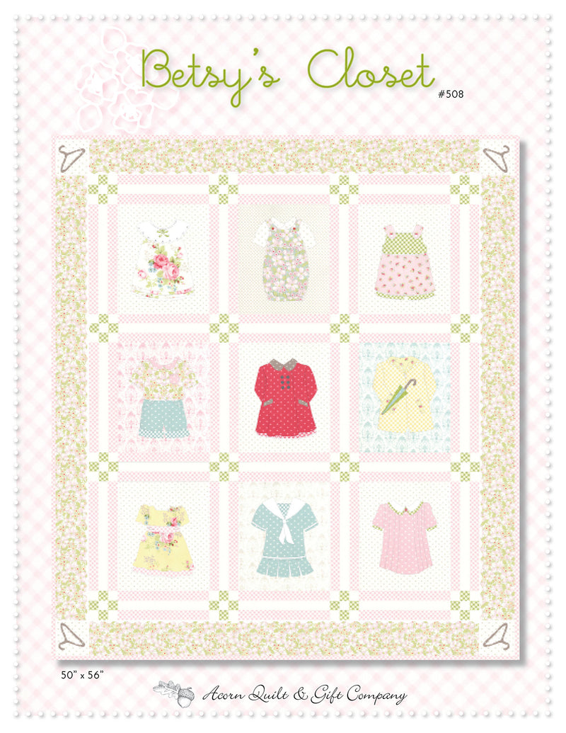 Betsy's Closet - paper pattern