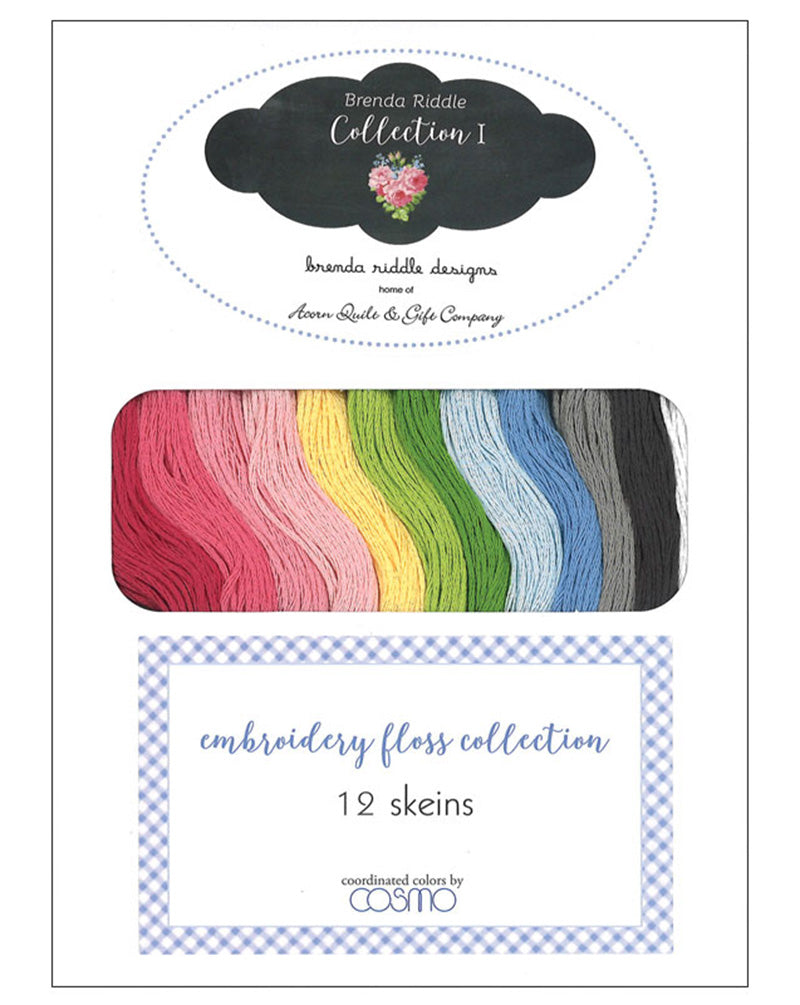 Cosmo Embroidery Floss set - Brenda Riddle Collection