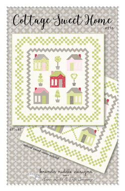 Cottage Sweet Home  -  PDF pattern