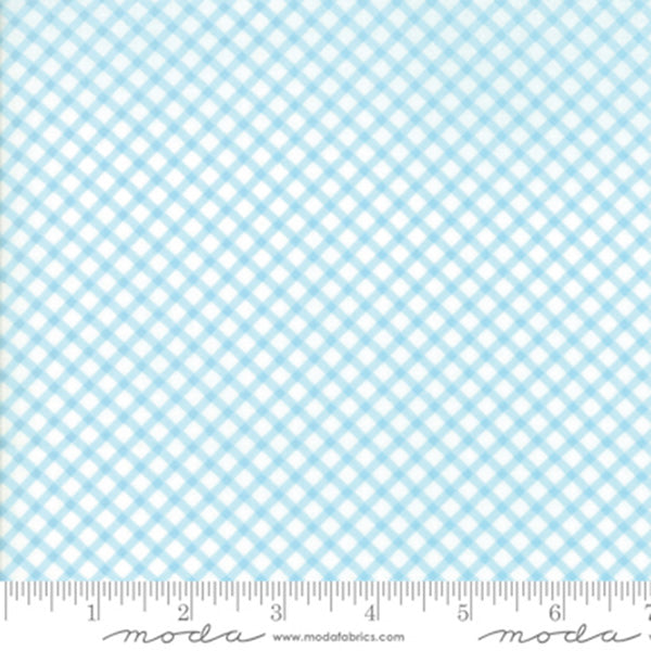 Good Tidings Gingham - Ice Blue