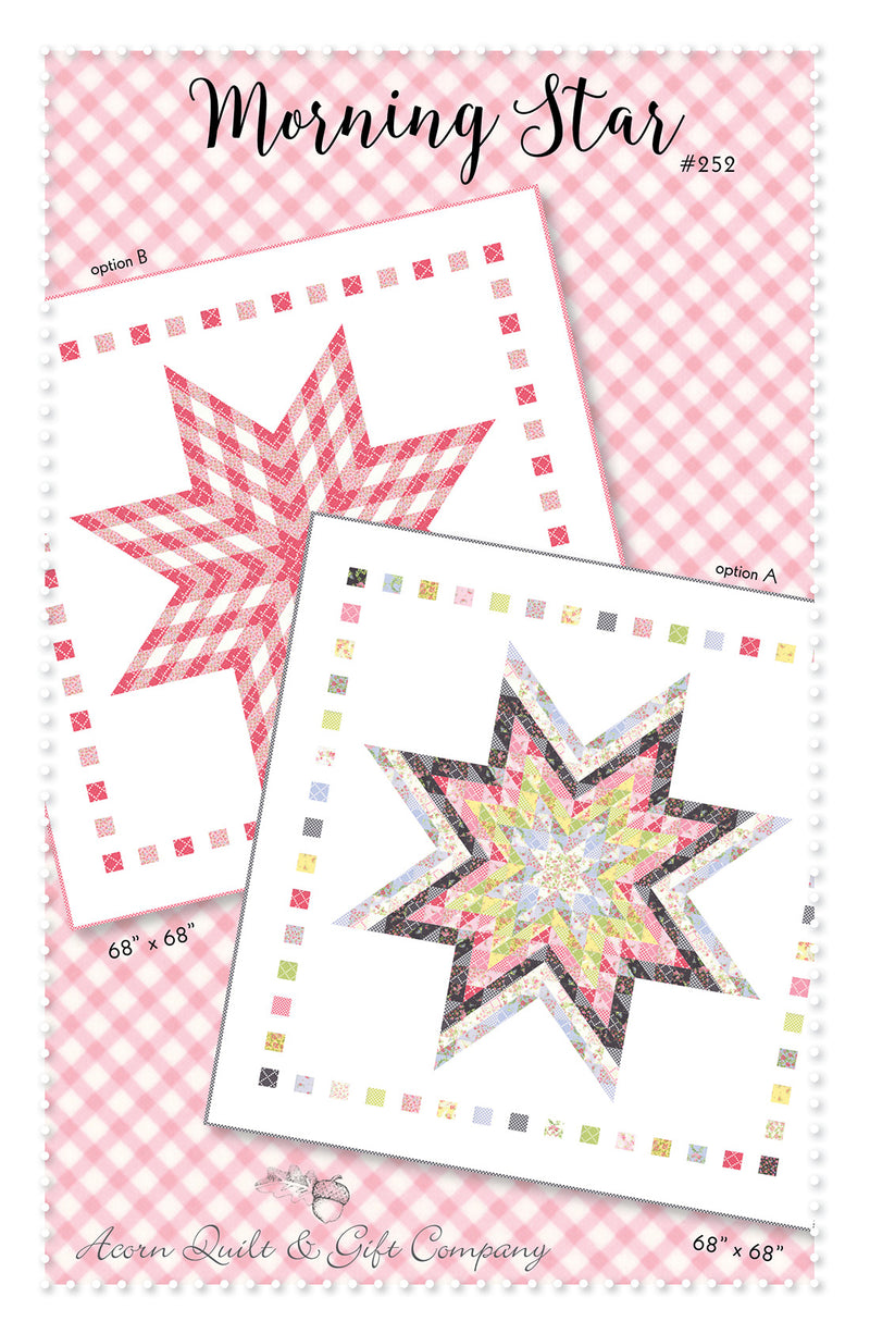 Morning Star - paper pattern