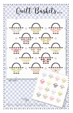 Quilt Baskets - PDF pattern