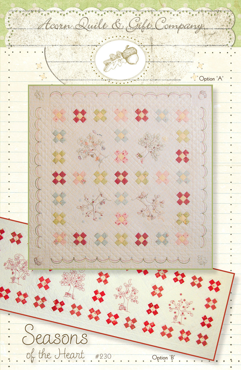 Seasons of the Heart - PDF pattern