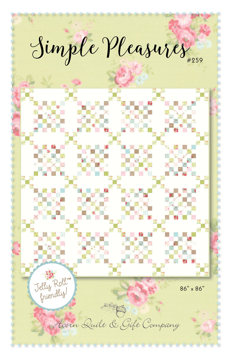 Simple Pleasures - PDF pattern