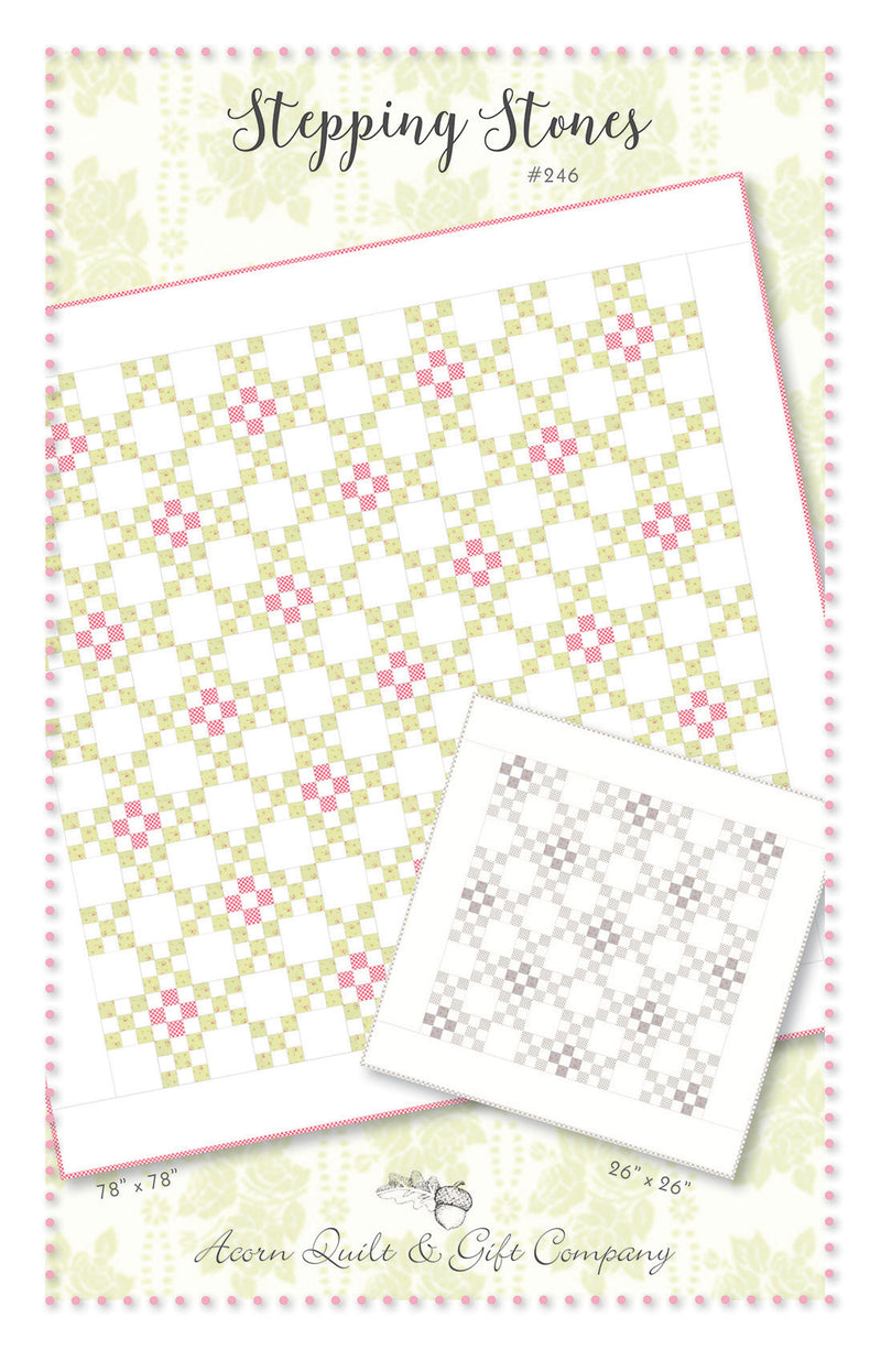 Stepping Stones - PDF pattern