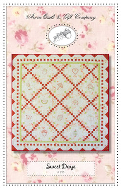 Sweet Days - PDF pattern