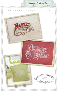 Vintage Christmas - paper pattern