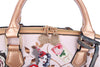 Lady Luck Women's Vintage Scratch & Stain Resistant Top-Handle Bag