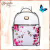 Hummingbird Crystal Laced Scratch & Stain Resistant Womens Backpack