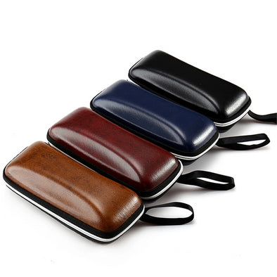 TruView Leather Sunglasses Case