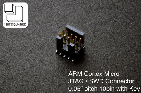 ARM Cortex JTAG SWD 10pin SMD Connector