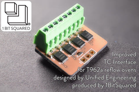 Improved Thermocouple Interface for T962a Reflow Ovens