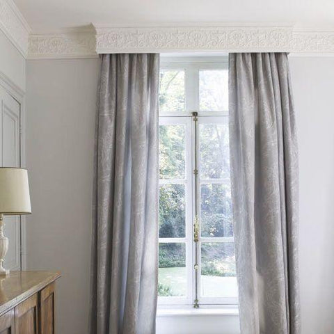 Regency Cornice range as a pelmet by The Library Ladder Company