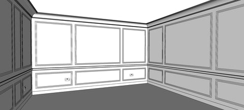 3D CAD drawing design service from the library ladder company