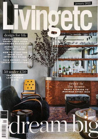 Library Ladder Company features in Living Etc January issue