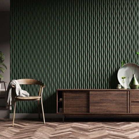 textured wall panelling from the library ladder company