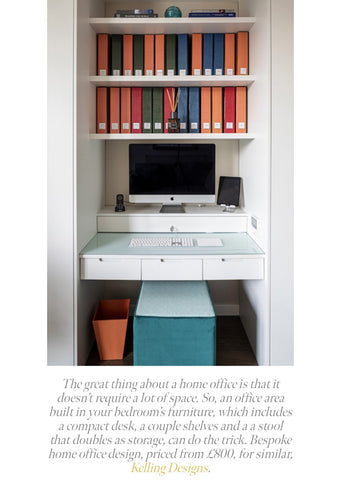 Home office spaces featured in Kitchens Bedrooms and Bathrooms magazine