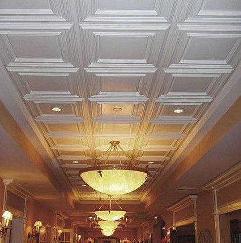 ceiling panelling from the library ladder company