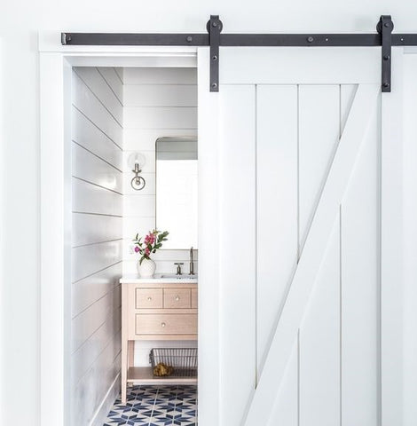 Sliding barn doors from the Library Ladder Company