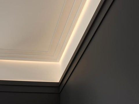 LED cornice lighting collection from the library ladder company