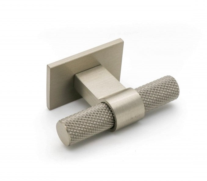 Knurled T Bar W / Square Plate
