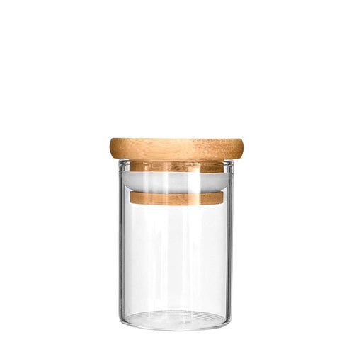 Glass Bottle Wooden Lid 2 oz (200 Count)