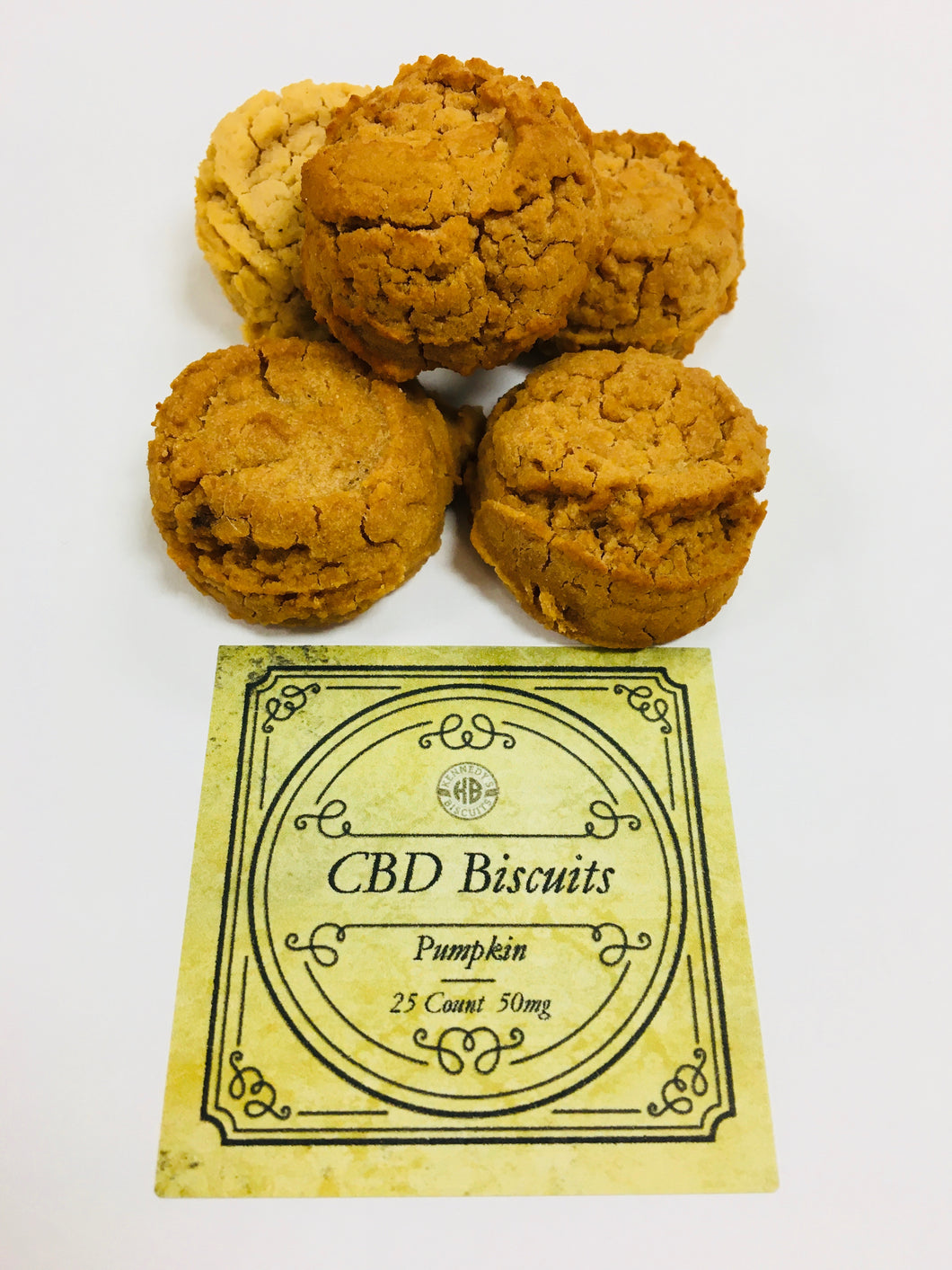 Pumpkin CBD Dog Biscuits