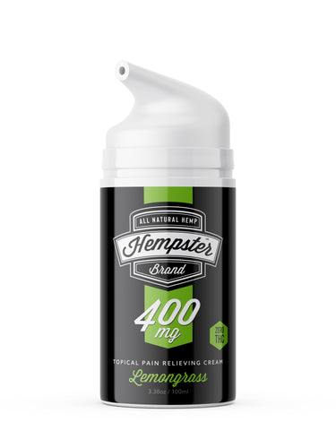 400mg Lemongrass Scented Topical Cream