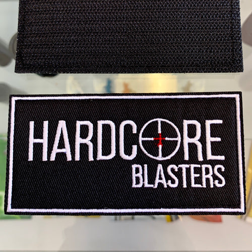 Hardcore Blasters Velcro Patch