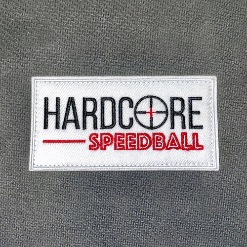Hardcore Speedball Velcro Patch