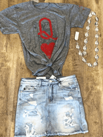 Queen Of Hearts Graphic Tees