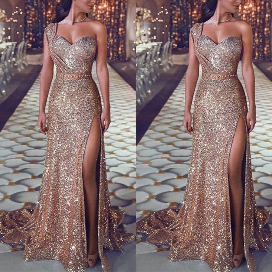Off Shoulder High Cut Party Dress
