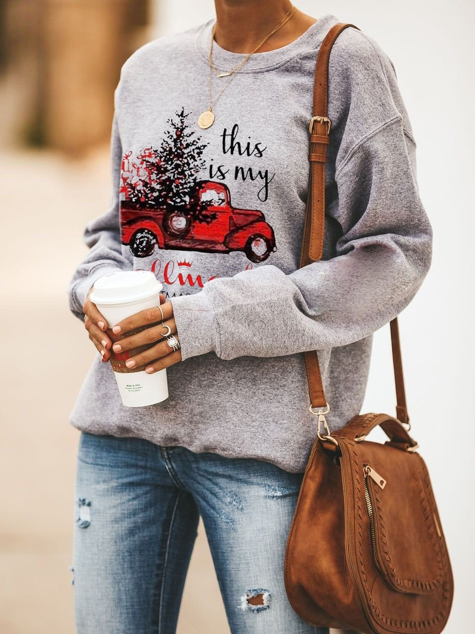 Hallmark Christmas Movies Watching Sweatshirt