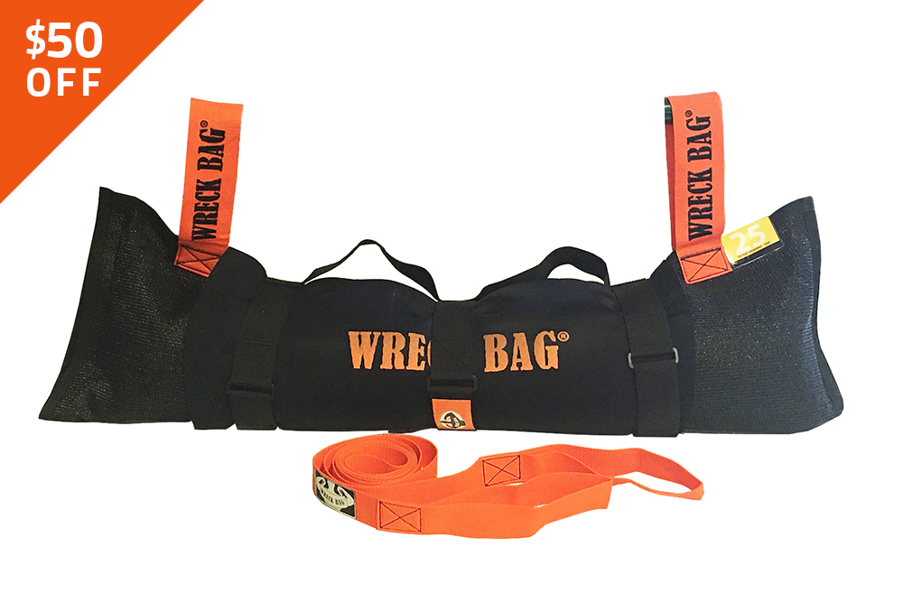 25lb Wreck Bag Bundle
