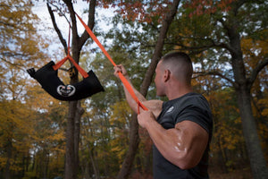 Wreck Strap - Portable Suspension Trainer (2 Handles/ 11.5 Feet Long)